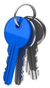 Schlüssel für Sicherheitsbeschlag