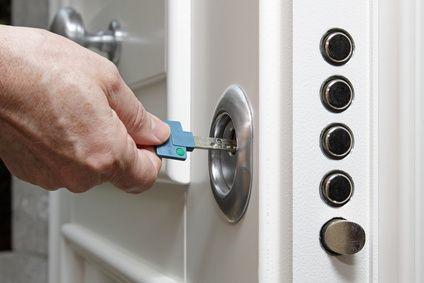 Sicherheitsschloss mit Mehrfachverriegelung