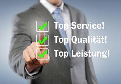 Service, Qualität & Leistung