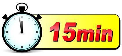 In 15 Minuten